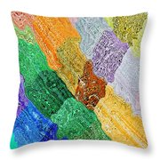 Cross Currents Throw Pillow
