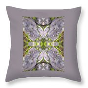 Cross In The Forest Throw Pillow
