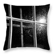 Cross In Window Throw Pillow