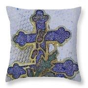 Cross Of Lorraine 1 Throw Pillow