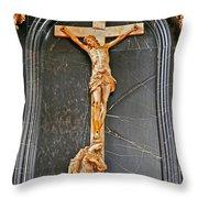Cross Of Trier Throw Pillow