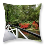 Cross The Waters Throw Pillow