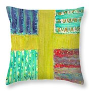 Cross -vegetable- Garden Throw Pillow