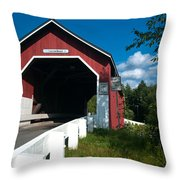 Crossing Carlton Throw Pillow