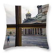 Crossing Over St. Basil Cathedral Throw Pillow