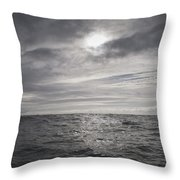 Crossing The Celtic Sea Throw Pillow
