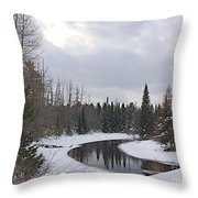 Crossing.jpg Throw Pillow