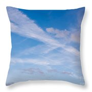 Crossroad In The Sky Throw Pillow