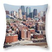 Crossroads Arts District Kansas City Mo Throw Pillow