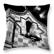 Crosstower Throw Pillow