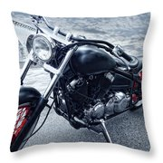 Crotch Rocket Throw Pillow