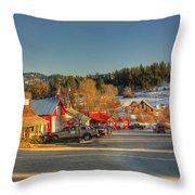 Crouch Main St Throw Pillow