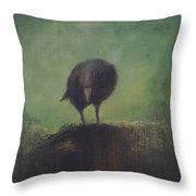 Crow 12 Throw Pillow