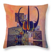 Crown 127 Throw Pillow