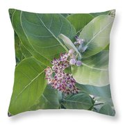 Crown Flower Throw Pillow