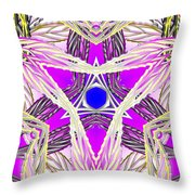 Crown Ignition Throw Pillow