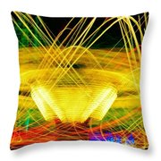 Crown Of Light Throw Pillow