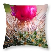 Crowned Beauty Throw Pillow