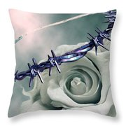 Crowned Throw Pillow