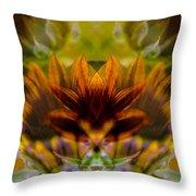 Crowned  Throw Pillow by Omaste Witkowski