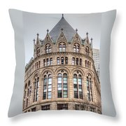 Crowned Roof Throw Pillow