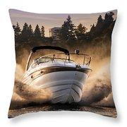 Crownline Boat Throw Pillow
