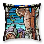 Crucifixion Of Christ Throw Pillow by Mountain Dreams