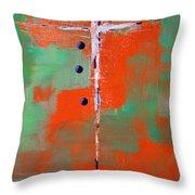 Cruciform 2 Throw Pillow by Nancy Merkle
