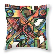 Cruciform Ix Throw Pillow