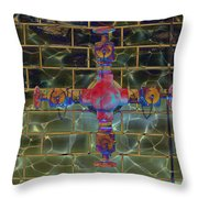 Cruciform The Second Throw Pillow by MJ Olsen