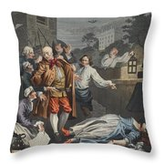 Cruelty In Perfection, From The Four Throw Pillow