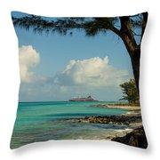 Cruise Bimini Throw Pillow