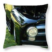 Cruise-in Car Show II Throw Pillow