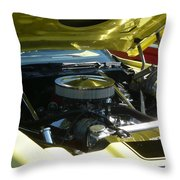 Cruise-in Car Show Vii Throw Pillow