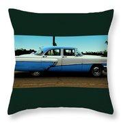 Cruising Down The Road Throw Pillow