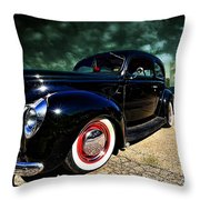 Cruising The Theater Throw Pillow