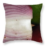 Crumby Onion  Throw Pillow