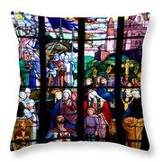 Crusader Throw Pillow