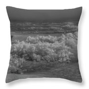 Crushed Ice 2 Throw Pillow