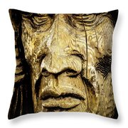 Crying Feathers Throw Pillow