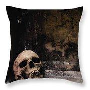 Crypt Throw Pillow