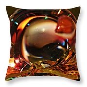 Crystal Ball Project 16 Throw Pillow
