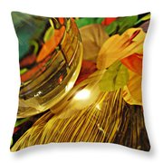Crystal Ball Project 20 Throw Pillow