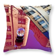 Crystal Ball Project 60 Throw Pillow