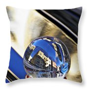 Crystal Ball Project 61 Throw Pillow