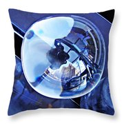 Crystal Ball Project 75 Throw Pillow