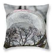Crystal Ball Project 86 Throw Pillow