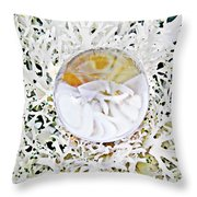 Crystal Ball Project 87 Throw Pillow