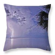 Crystal Beach 4 Throw Pillow