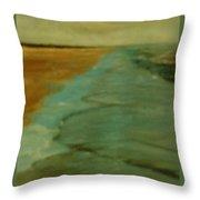 Crystal Beach Texas Throw Pillow